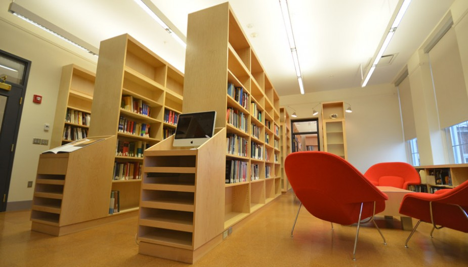 Library and reading area